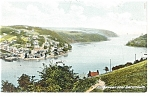 Click here to enlarge image and see more about item p9857: Kingswear near Dartmouth UK Postcard