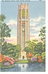 Click here to enlarge image and see more about item p9867: Lake Wales, FL, The Singing Tower Postcard