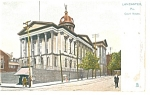 Click here to enlarge image and see more about item p9871: Lancaster, PA, Court House Tucks Postcard
