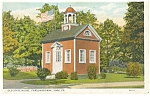 York, PA, Old State House Farquhar Park Postcard