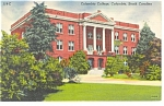 Click here to enlarge image and see more about item p9898: Columbia, SC Columbia College Postcard 1943