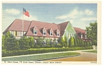 Chester,IL, St Ann's Home  Postcard 1956