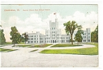 Click here to enlarge image and see more about item p9904: Charleston, IL, Normal School  Postcard