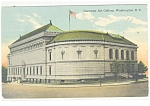Click here to enlarge image and see more about item p9906: Washington, DC, Corcoran Art Gallery Postcard 1912