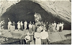 Click here to enlarge image and see more about item p9966: Centre Hall PA  Penn s Cave Boat Ride Postcard p9966