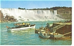 Click here to enlarge image and see more about item p9970: Niagara Falls  Ontario Maid of the Mist Postcard p9970