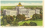 Washington DC Library Of Congress Postcard