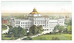Washington DC Library Of Congress Postcard ca 1907