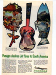 Click here to enlarge image and see more about item panam03: Panagra Slashes Jet Fares Ad panam03