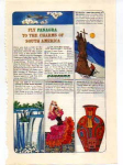 Click here to enlarge image and see more about item panam04: Panagra Charms of South America Ad panam04