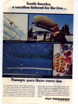 Click here to enlarge image and see more about item panam10: Fly Panagra to South America Ad panam10