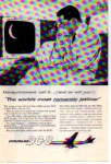 Click here to enlarge image and see more about item planes02: Douglas DC 8 Romantic Jetliner Ad planes02