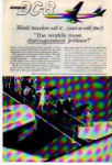 Click here to enlarge image and see more about item planes03: Douglas DC-8 Distinguished Jetliner Ad