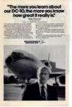 Click here to enlarge image and see more about item planes08: Douglas DC 10 Pete Conrad Ad planes08
