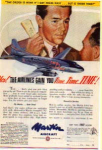 Click here to enlarge image and see more about item planes17: Martin 202 Airliner Ad planes17