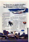 Click here to enlarge image and see more about item planes19: Beechcraft Duke and Super King Air Aircraft Ad planes19