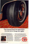 Click here to enlarge image and see more about item pont02: General Tire Dual S-90 Sidewinder Tire AD pont02