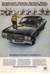 Click here to enlarge image and see more about item pont04: 1970 Oldsmobile 98 Ad