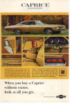 Chevrolet Caprice Custom Sedan Ad