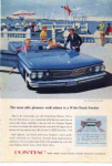Click here to enlarge image and see more about item pont14: 1960 Pontiac Bonneville Convertible Ad