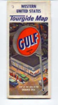 Gulf Tourgide Map of Western United States