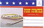 Fort Sumter South Carolina Souvenir Folder