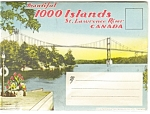 Click here to enlarge image and see more about item sf0066: Thousand Islands  St Lawrence Souvenir Folder