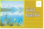 Click here to enlarge image and see more about item sf0122: Grand Teton National Park WY Souvenir Folder sf0122