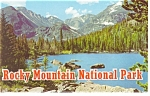 Click here to enlarge image and see more about item sf0134: Rocky Mountain  National Park Souvenir Folder