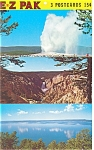 Yellowstone  National Park WY Grand Canyon Postcards sf0137