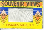 Niagara Falls, NY Souvenir Folder  19 Views
