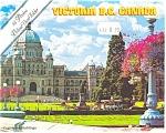 Victoria BC Canada  Souvenir Folder