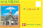 Click here to enlarge image and see more about item sf0209: Solvang, California  Souvenir Folder sf0209