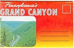 Pennsylvania's Grand Canyon  Souvenir Folder