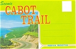 Scenic Cabot Trail, NS,Souvenir Folder