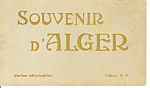 Click here to enlarge image and see more about item sf0245: Algeria  Vintage Souvenir Folder sf0245