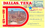 Click here to enlarge image and see more about item sf0255: Dallas, Texas Souvenir Folder 1958