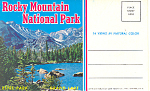 Rocky Mountain National Park CO Souvenir Folder sf0273