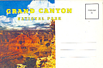 Click here to enlarge image and see more about item sf0274: Grand Canyon National Park, AZ Souvenir Folder
