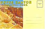 Click here to enlarge image and see more about item sf0275: Bryce Canyon National Park UT Souvenir Folder sf0275