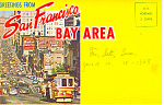 San Francisco Bay Area, CA Souvenir Folder