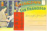 Chinatown San Francisco  CA Souvenir Folder