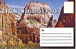Zion National Park Utah Souvenir Folder sf0287