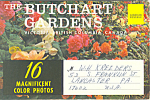 Click here to enlarge image and see more about item sf0295: Butchart Gardens Victoria BC Souvenir Folder sf0295