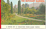 Click here to enlarge image and see more about item sf0296: Butchart Gardens Victoria BC Postcards sf0296
