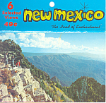 New Mexico Souvenir Folder Postcards