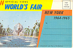 New York World's Fair 1964-65 Souvenir Folder