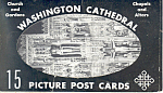 Washington Cathedral,Washington DC Souvenir Folder