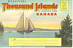 Thousand Islands Canada Souvenir Folder