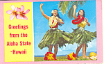 Hula From Hawaii Souvenir Folder